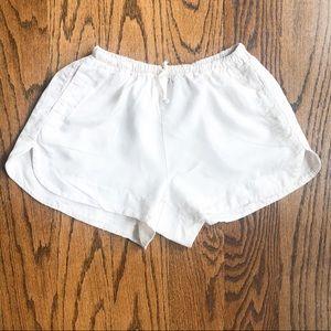 Brandy Melville White Lounge Shorts
